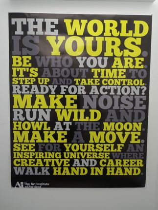 Art Institute Poster