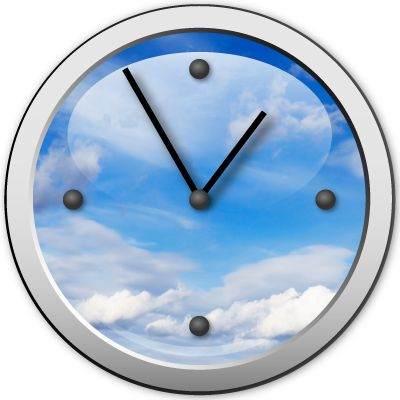 Skyclock for www.fivemoreminuteswith.com