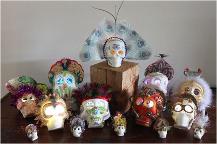 Kate heyhoe sugar skulls five more minutes with