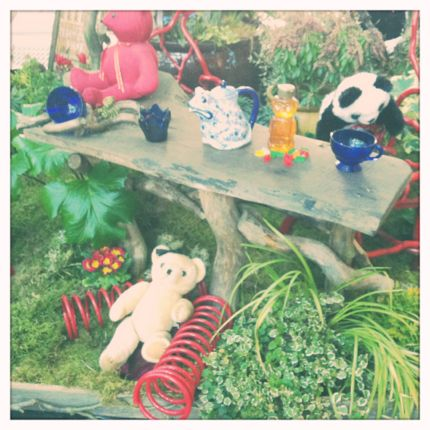 Inspiring Moment: Teddy Bear Tea Party photo